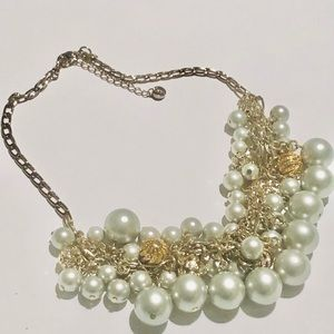 The loft faux pearl necklace